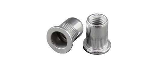 Large Flange Aluminium Rivet Nuts