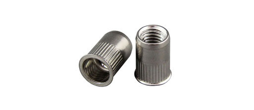 Low Profile Stainless Steel Rivet Nuts