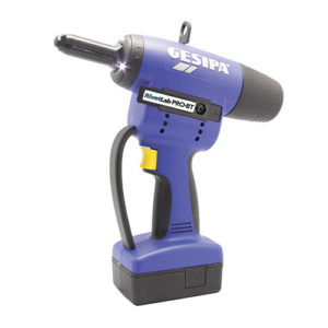 Gesipa Pro BT battery rivet gun for Bulb-Tite rivets